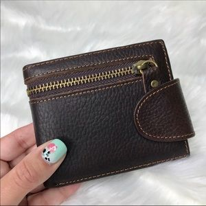 Other - Men's Christmas gift brown Leather wallet 🎁